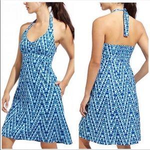 Athleta Blue Halter Dress Size 2